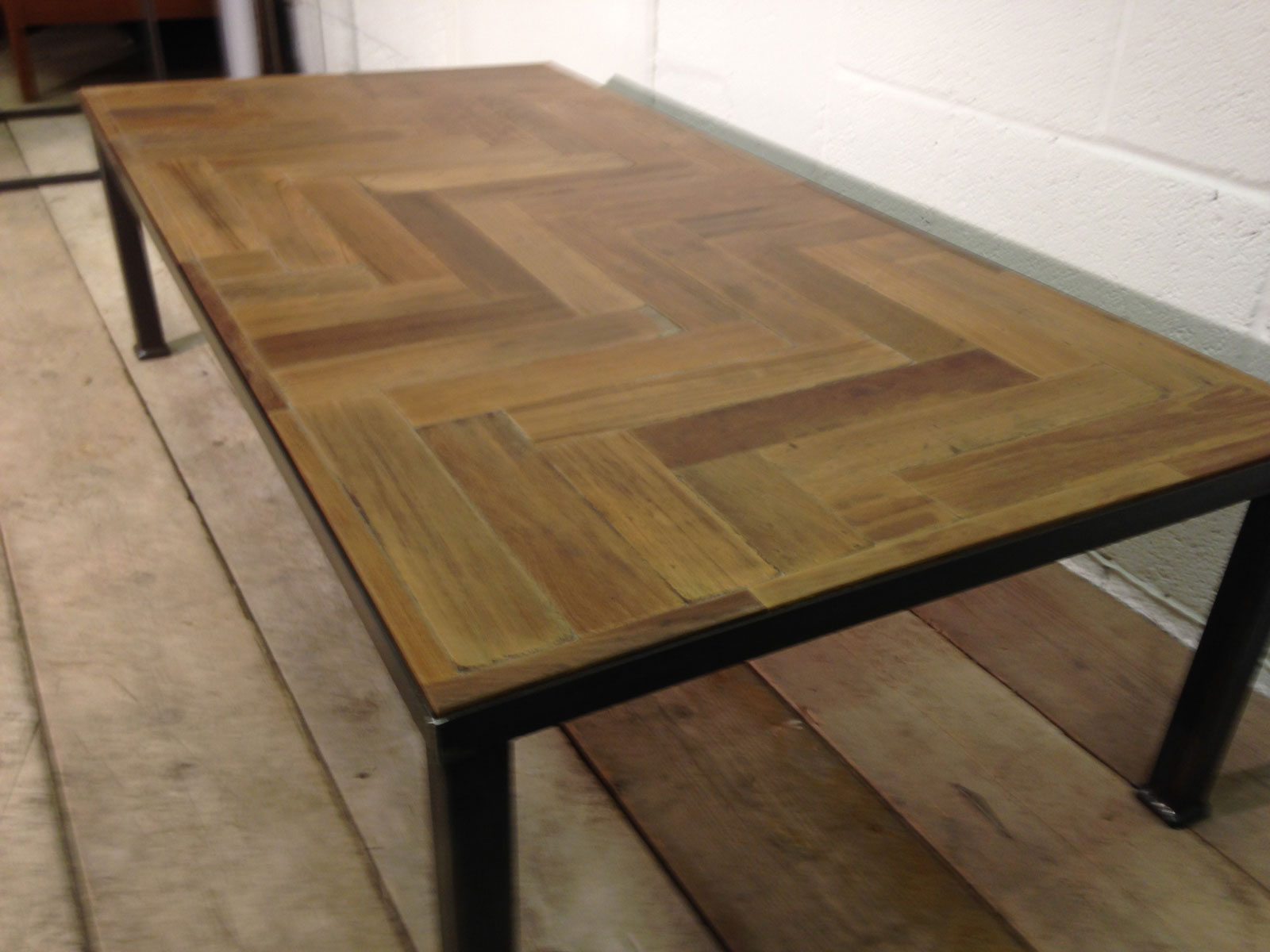 ... Large Reclaimed Parquet Coffee Table. £595.00