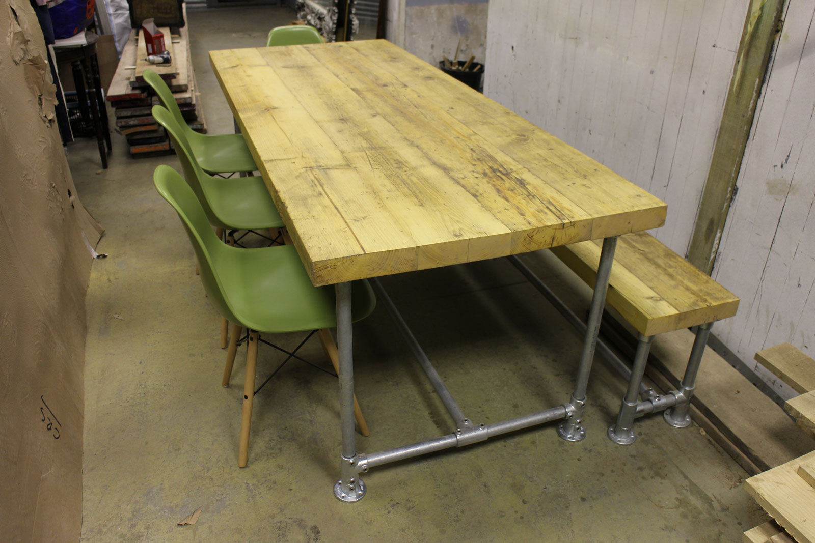 Scaffold Board Table And Bench