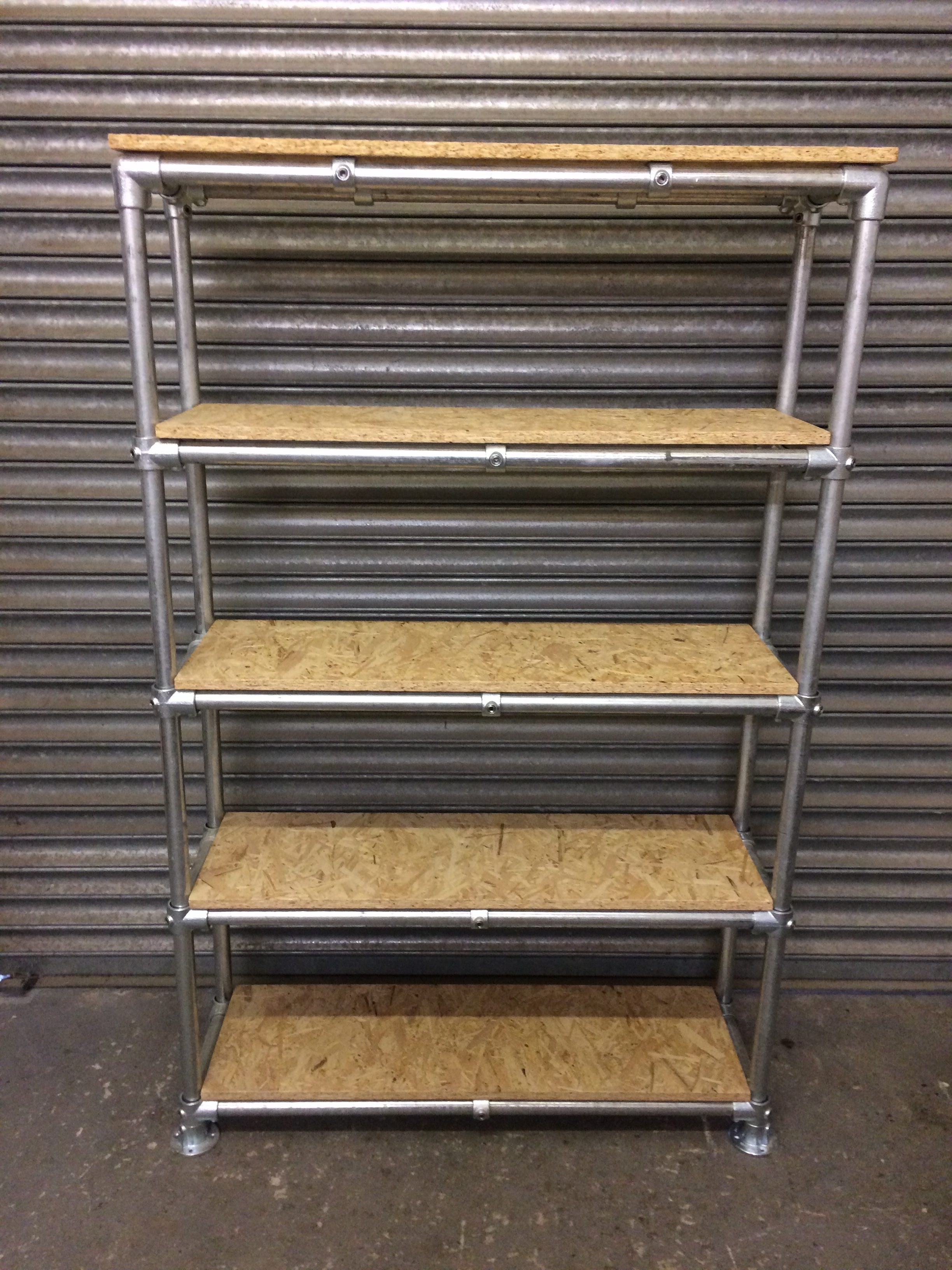 Wings Furniture And Interiors Scaffold Pipe Shelving