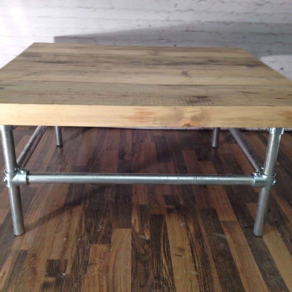 Scaffold Board Coffee Table