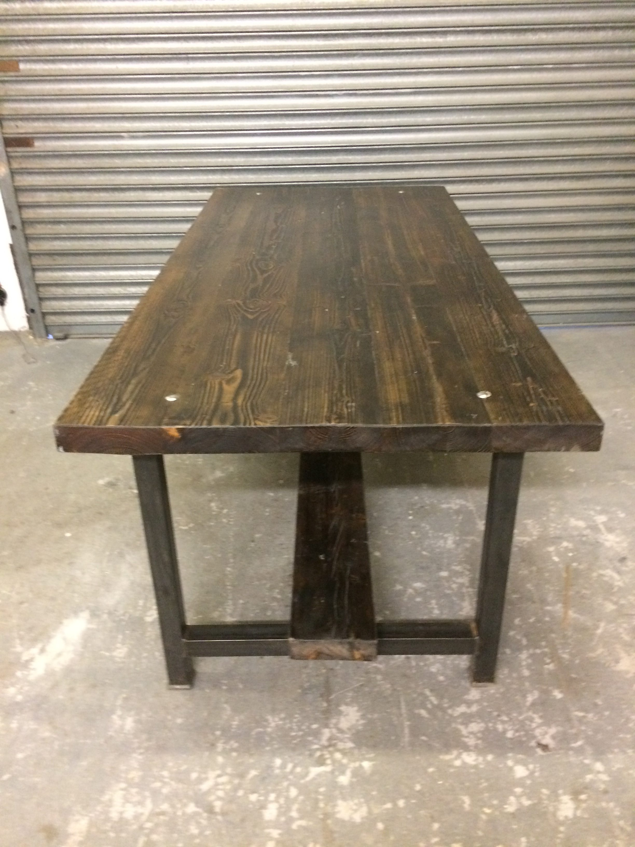 Reclaimed Super Thick Old Style Scaffold Board And Box